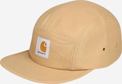 Carhartt WIP Cap 'Backley' in hellbraun / weiß, Produktansicht