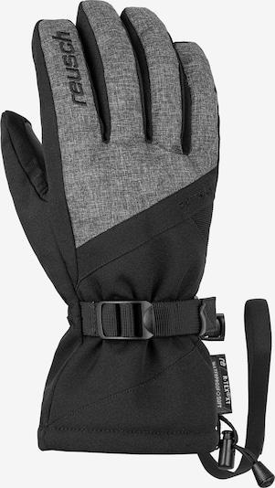 REUSCH Athletic Gloves 'Outset R-TEX® XT' in Black / mottled black, Item view