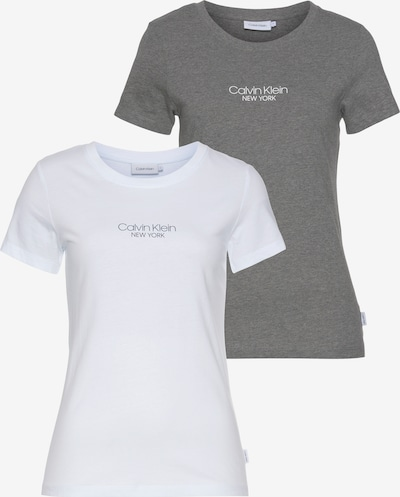 Calvin Klein Shirt in Grey / White, Item view