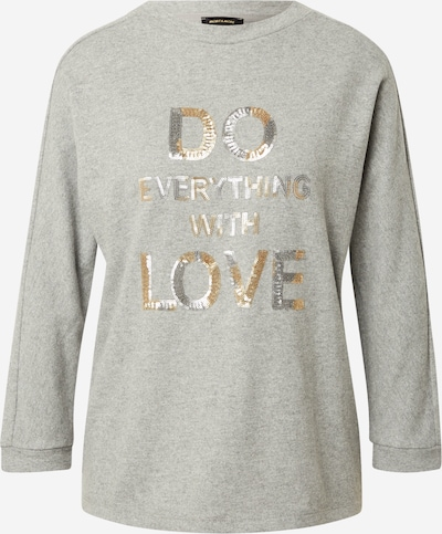 MORE & MORE Sweatshirt in Gold / mottled grey / Silver, Item view