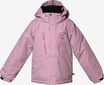 Isbjörn of Sweden Outdoor jacket 'HELICOPTER' in Pink