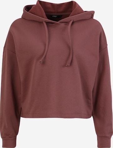 Only Petite Sweatshirt 'DREAMER' in Lila