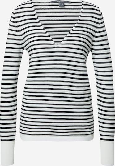 Esprit Collection Pull-over en noir / blanc cassé, Vue avec produit