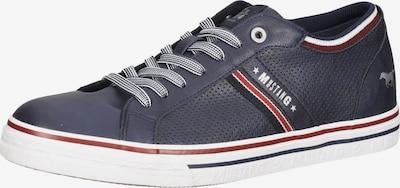 MUSTANG Tenisky - námořnická modř / červená / bílá, Produkt