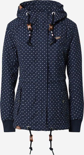 Ragwear Outdoorjas 'Danka' in de kleur Navy / Wit, Productweergave