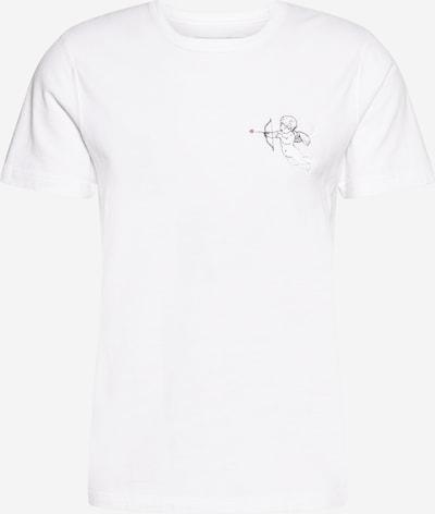 Abercrombie & Fitch T-Shirt en rouge / noir / blanc, Vue avec produit