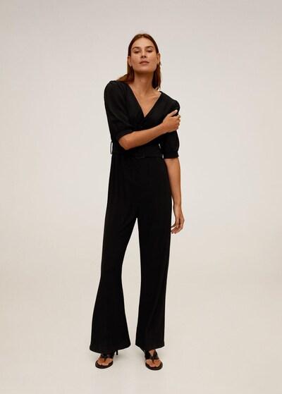 MANGO Jumpsuit 'Yute' in de kleur Zwart, Modelweergave