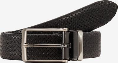 Lloyd Men's Belts Ledergürtel Kantenfinish in schwarz, Produktansicht