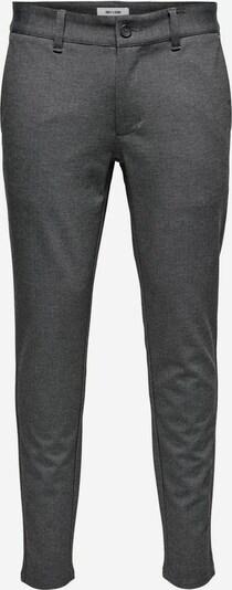 Only & Sons Chino in de kleur Grijs, Productweergave