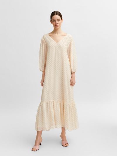 SELECTED FEMME Šaty 'Dandy' - krémová / ružová, Model/-ka