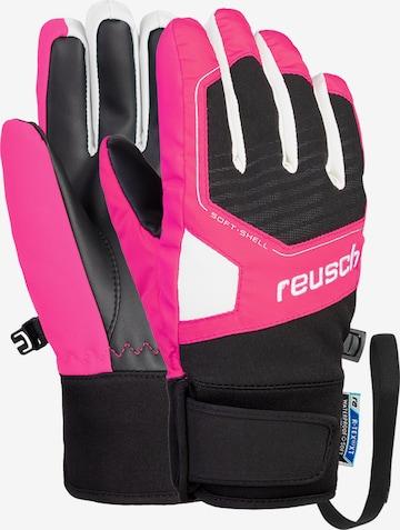 REUSCH Fingerhandschuhe 'Torby R-TEX® XT Junior' in Pink