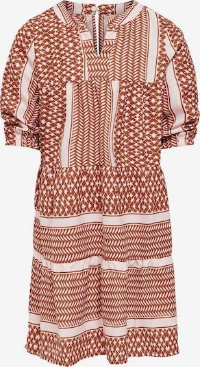 KIDS ONLY Kleid in braun / weiß, Produktansicht