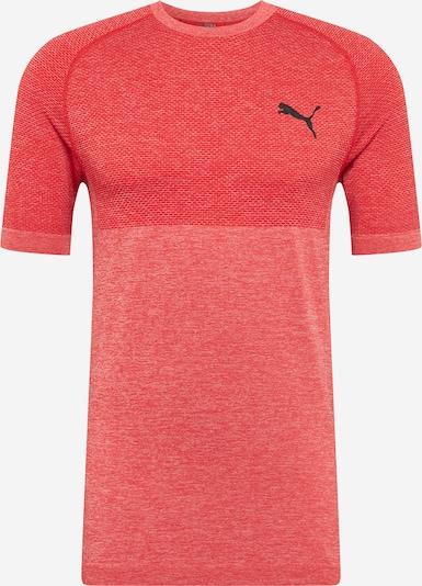 PUMA Camiseta funcional 'Evoknit' en rojo vivo / rojo moteado, Vista del producto