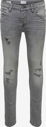 Only & Sons Jeans 'LOOM' in de kleur Grey denim, Productweergave