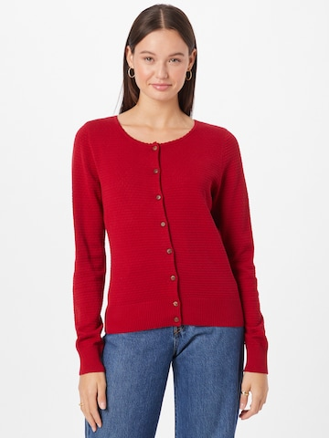 Blutsgeschwister Knit Cardigan 'Save The Brave' in Red