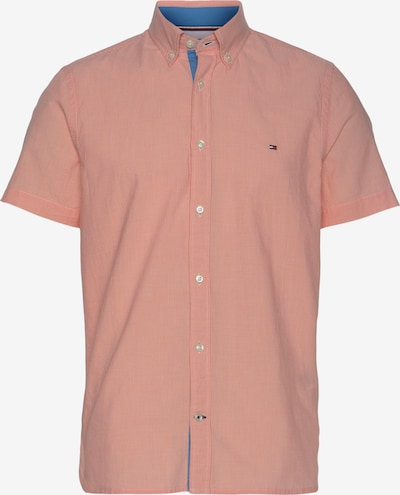 TOMMY HILFIGER Hemd in blau / pink / rot / weiß, Produktansicht
