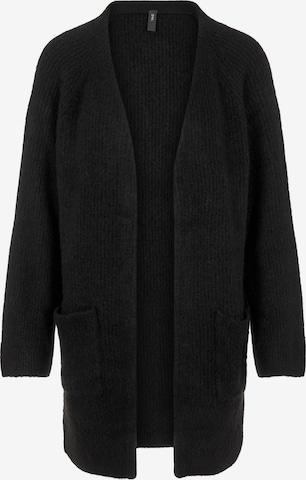 Y.A.S Knit Cardigan 'Alva' in Black
