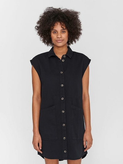 Noisy may Kleid 'NMALMA' in schwarz, Modelansicht