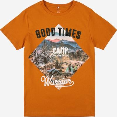 NAME IT Shirt 'KALMARO' in de kleur Gemengde kleuren / Donkeroranje, Productweergave