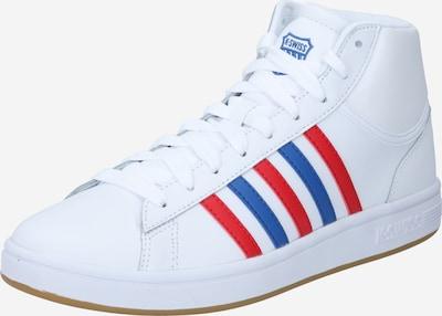 K-SWISS Zapatillas deportivas altas 'Court Winston' en azul real / granadina / blanco, Vista del producto
