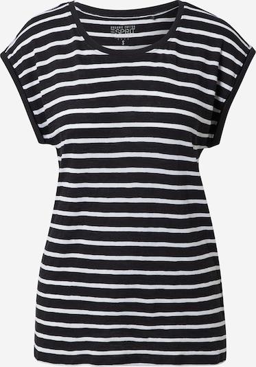 ESPRIT Koszulka w kolorze czarny / białym, Podgląd produktu