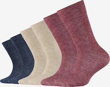 camano Socken in Rot