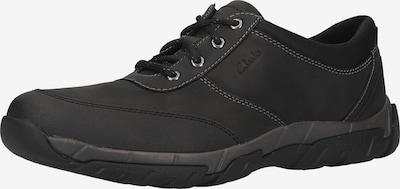 CLARKS Schnürschuh in schwarz, Produktansicht