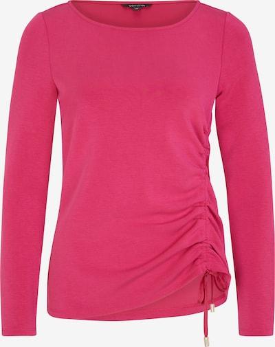COMMA T-shirt en rose foncé, Vue avec produit