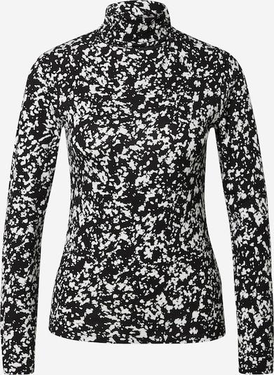 OVS Shirt in schwarz / weiß, Produktansicht