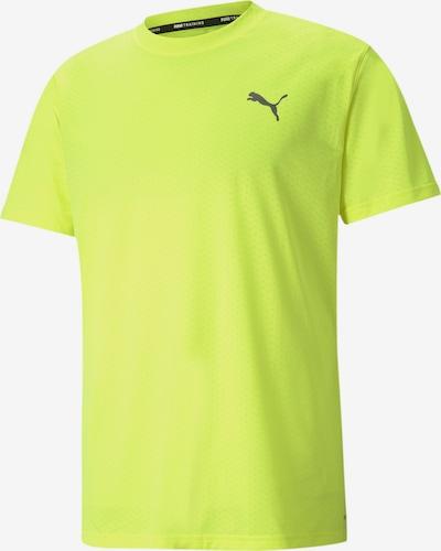 PUMA Functioneel shirt in de kleur Neongeel, Productweergave