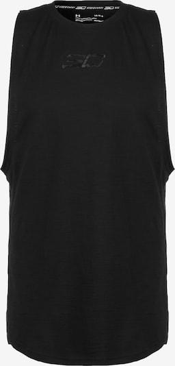 UNDER ARMOUR Basketballshirt Herren in schwarz, Produktansicht