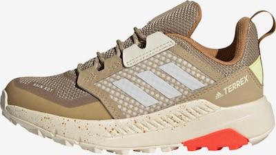 ADIDAS PERFORMANCE Спортни обувки в бежово / бяло: Изглед отпред