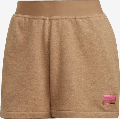 ADIDAS ORIGINALS Shorts in beige / rosa, Produktansicht