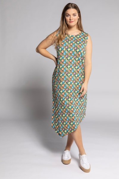 Ulla Popken Kleid in mischfarben, Modelansicht