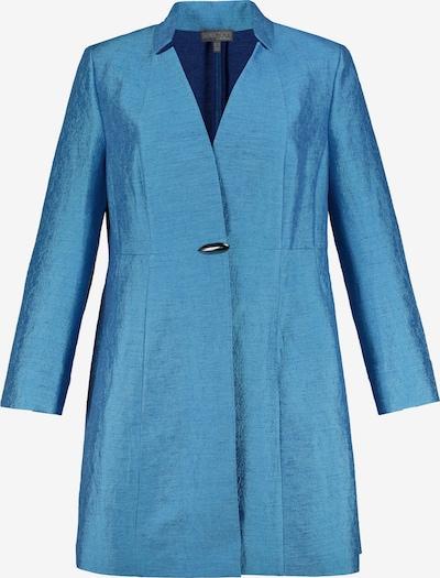 Ulla Popken Longblazer in blau, Produktansicht