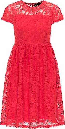 faina Romantisches Spitzenkleid in rot, Produktansicht