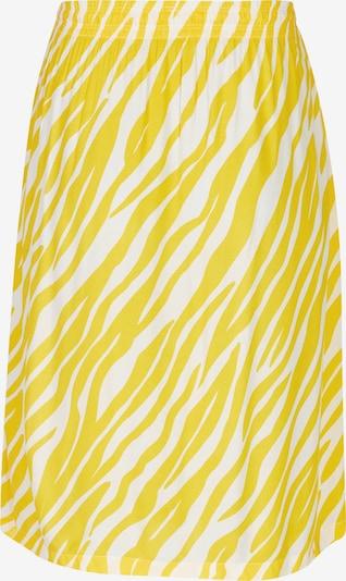 Rock Your Curves by Angelina K. Rock in gelb / weiß, Produktansicht