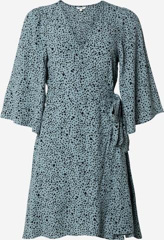 Rochie tip bluză 'Melika' de la mbym pe albastru