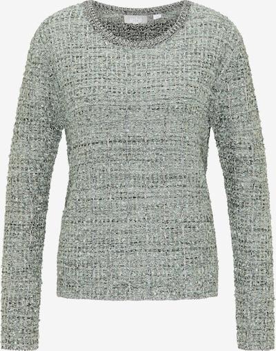 Usha Pullover in pastellgelb / dunkelgrau / mint / weiß, Produktansicht