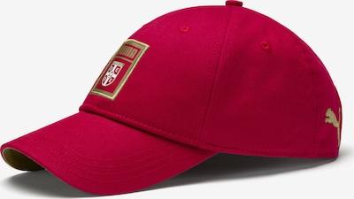 PUMA Cap 'Serbien' in gold / rot, Produktansicht