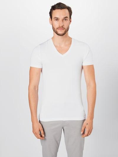 OLYMP Shirt in weiß: Frontalansicht