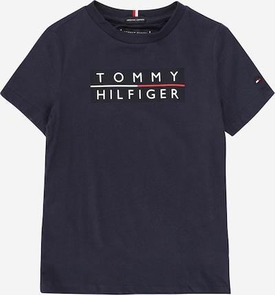Tricou TOMMY HILFIGER pe bleumarin / negru / alb, Vizualizare produs