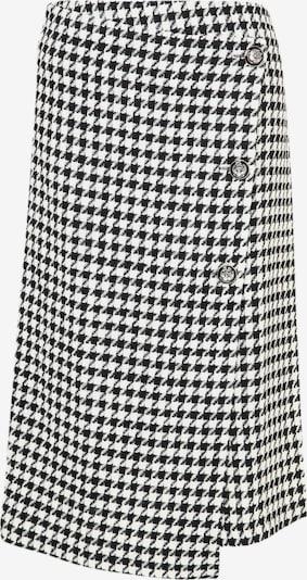 Madam-T Wickelrock 'VIVIANA' in schwarz / weiß, Produktansicht