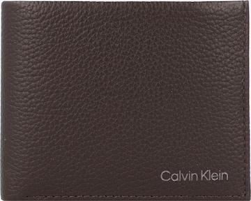 Calvin Klein Rahakott 'Warmth', värv pruun