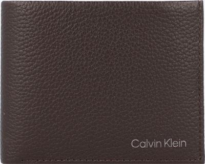 Calvin Klein Geldbörse 'Warmth' in dunkelbraun, Produktansicht