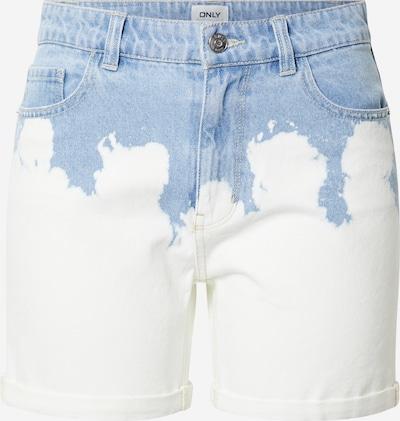 ONLY Jean en bleu clair / blanc denim, Vue avec produit