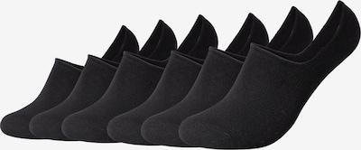 camano Füßlinge in schwarz, Produktansicht