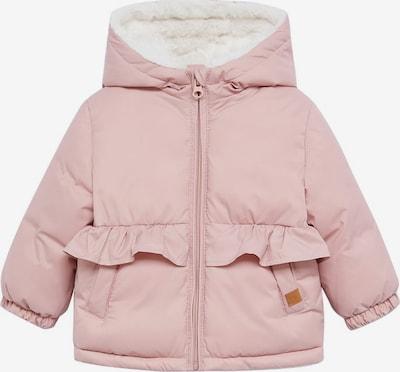 MANGO KIDS Zimska jakna 'JUNE 7' u prljavo roza / bijela, Pregled proizvoda