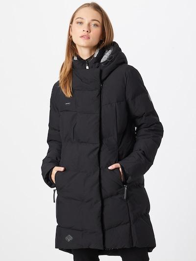 Ragwear Winter Coat 'PAVLA' in Black, View model