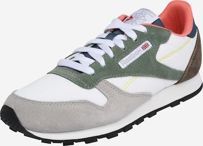 Sneaker Reebok Classic di colore blu / marrone scuro / grigio / verde / bianco, Visualizzazione prodotti